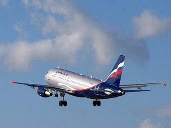 """Самолет """"Аэрофлота"""". Фото с сайта aeroflot.no"""