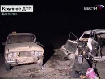 Крупная автоавария произошла в Ногайском районе Дагестана.