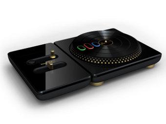 Контроллер для игры DJ Hero из версии Renegade Edition