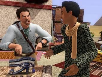 """Скриншот дополнения """"Мир Приключений"""" для The Sims 3"""