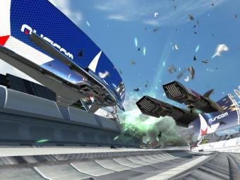 Скриншот Wipeout HD