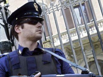 Итальянский полицейский. Фото ©AFP