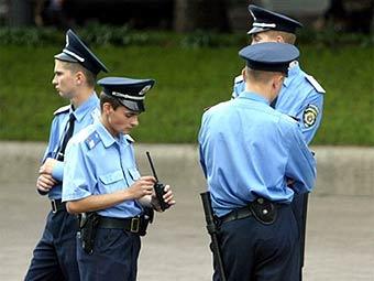 Украинские милиционеры. Фото ©AFP