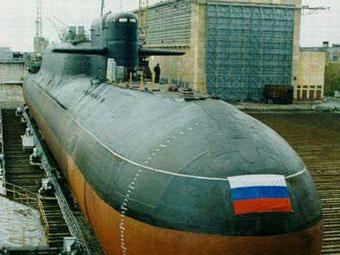 АПЛ проекта 667БДРМ. Фото с сайта submarine.id.ru