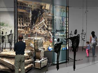 Одна из планируемых экспозиций нью-йоркского музея терактов 11 сентября. Изображение с сайта national911memorial.org