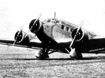 """Самолет """"Юнкерс-52"""", с секретными документами Второй мировой войны"""