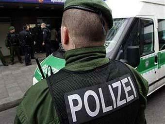 Немецкие полицейские. Фото ©AFP