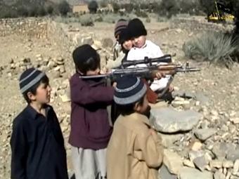 Кадр из видеообращения группировки