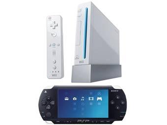 Продажи PSP и Wii в Японии выросли втрое