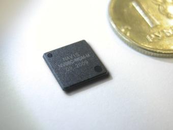 """Чип-приемник NV08C-MCM-M. Фото пресс-службы КБ """"Навис"""""""