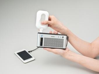 Зарядное устройство на топливных элементах Dynario. Фото пресс-службы Toshiba