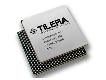 Мультиядерный процессор Tilera. Иллюстрация пресс-службы компании