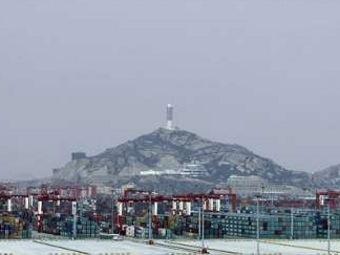 Вид на морской порт Шанхая. Фото ©AFP.