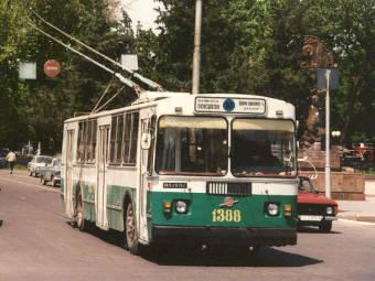 Ташкентский троллейбус. Фото Ааре Оландера с сайта tramvaj.ru