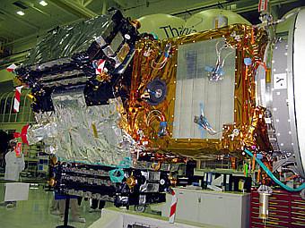 Аппарат SMOS. Фото ESA