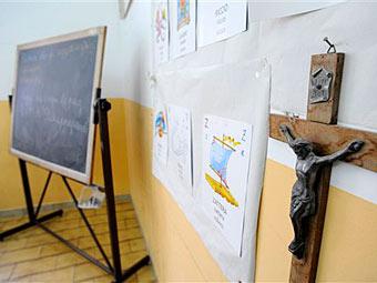 Распятии в школах
