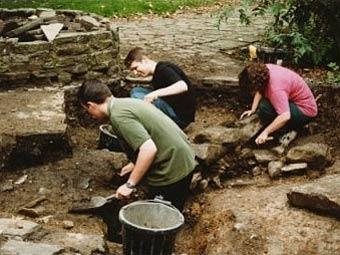 Археологические раскопки в Лестершире. Фото с сайта le.ac.uk