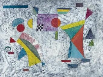 Фрагмент полотна Василия Кандинского. Репродукция с сайта Sotheby's
