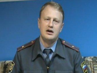 Алексей Дымовский. Кадр из видеообращения