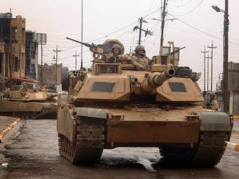 Американские танки в Ираке. Фото с сайта defenselink.mil