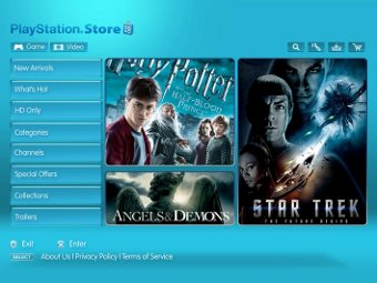 Sony запустила европейский видеосервис для PS3 и PSP