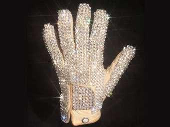 Перчатка Майкла Джексона. Фото из каталога Julien's Auctions