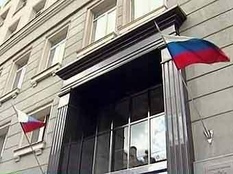 Здание ФНС. Кадр телеканала НТВ
