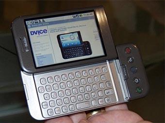 Телефон на Android. Фото с сайта quezi.com