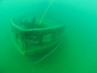 """Остов парохода """"Эй-Джей Годар"""". Фото Донни Рида, INA"""