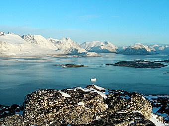Ледяной покров на западной части Арктики полностью растаял