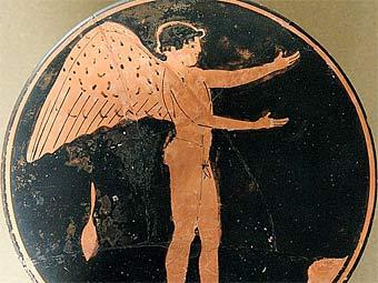 Изображение Эроса из собрания Лувра. Фото пользователя Jastrow с сайта wikipedia.org