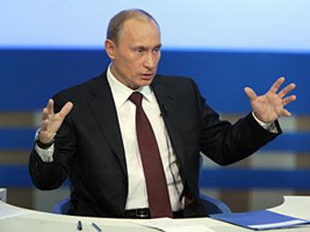 Владимир Путин. Фото с сайта moskva-putinu.ru