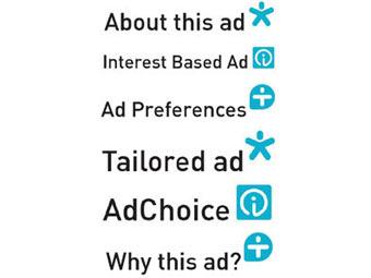 Предположительный вид предупреждений о рекламе