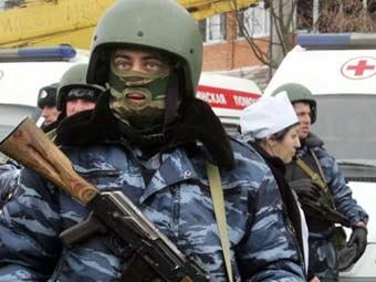 Сотрудники МВД Ингушетии. Архивное фото ©AFP