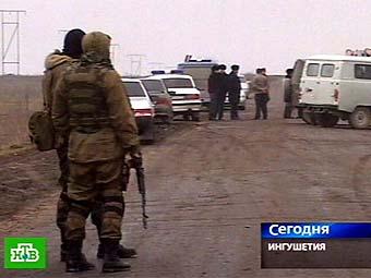 Военнослужащие в районе разминирования. Кадр телеканала НТВ