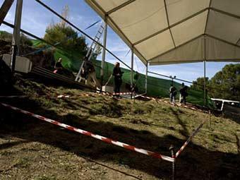 Район раскопок. Фото ©AFP