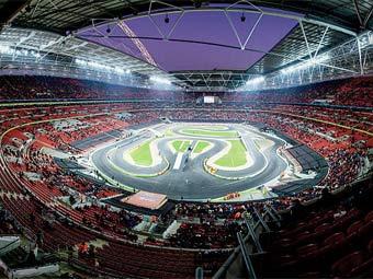 """Вид на стадион """"Уэмбли"""". Фото пользователя E01 с сайта Flickr"""