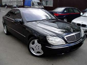 Фотографии автомобиля Mercedes-Benz S500 / Мерседес-Бенц S500