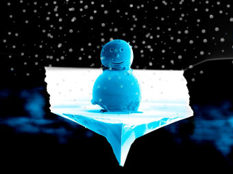 Снеговик. Иллюстрация авторов исследования