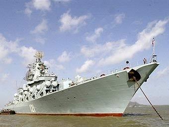 Корабль Черноморского флота РФ. Фото ©AFP