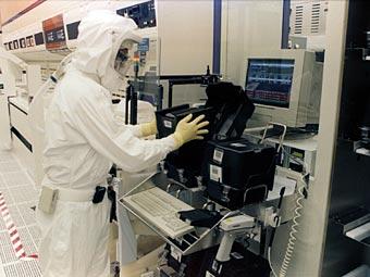 Производство Intel. Фото пресс-службы компании
