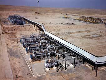 "Участок газопровода ""Средняя Азия-Центр"". Фото с сайта компании ""Газпром"""