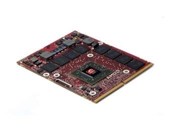 Мобильная версия Radeon HD 5870. Фото с сайта Fudzilla