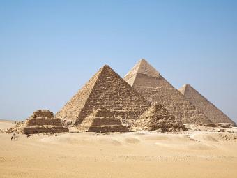 Пирамиды. Фото пользователя Ricardo Liberato с сайта wikipedia.org