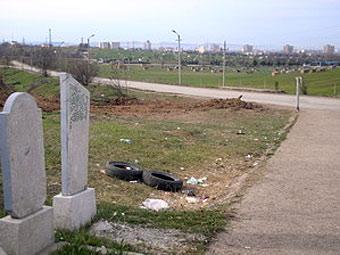 """Вид на кладбище """"Абдал"""". Фото с сайта  kr-eho.info"""