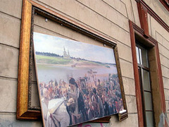 В Санкт-Петербурге разгромили уличную выставку Русского музея
