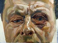 Автопортрет избитого Люсьена Фрейда продадут с аукциона