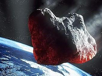 Астероид глазами художника. Иллюстрация NASA