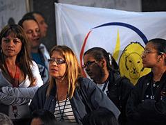 В Венесуэле прошли акции протеста в защиту СМИ