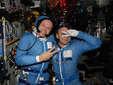 Космонавты Максим Сураев и Олег Котов. Фото с сайта Роскосмоса
